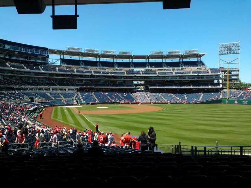 Seating view for Nationals Park Section 137 Row LL Seat 28