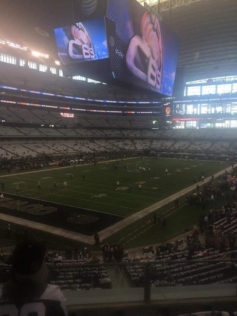 Seating view for AT&T Stadium Section 243 Row 4 Seat 16