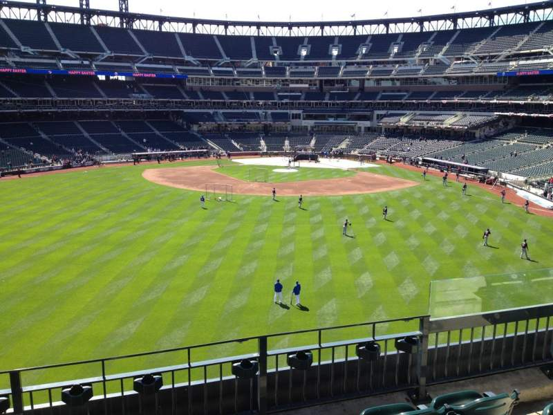 Seating view for Citi Field Section 338 Row 4 Seat 5