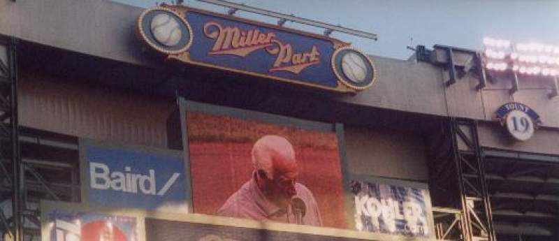 Miller Park, section: 126, row: 12, seat: 4