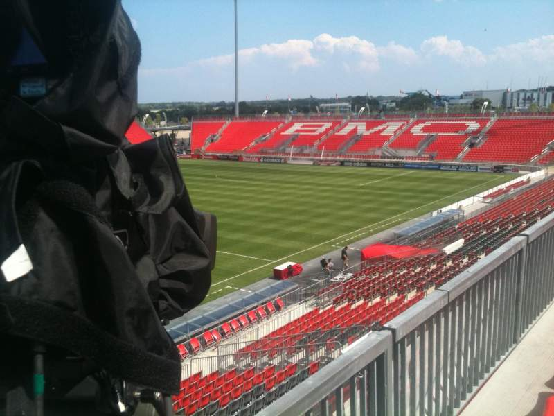 Seating view for BMO Field Section 225 Row 1 Seat 6