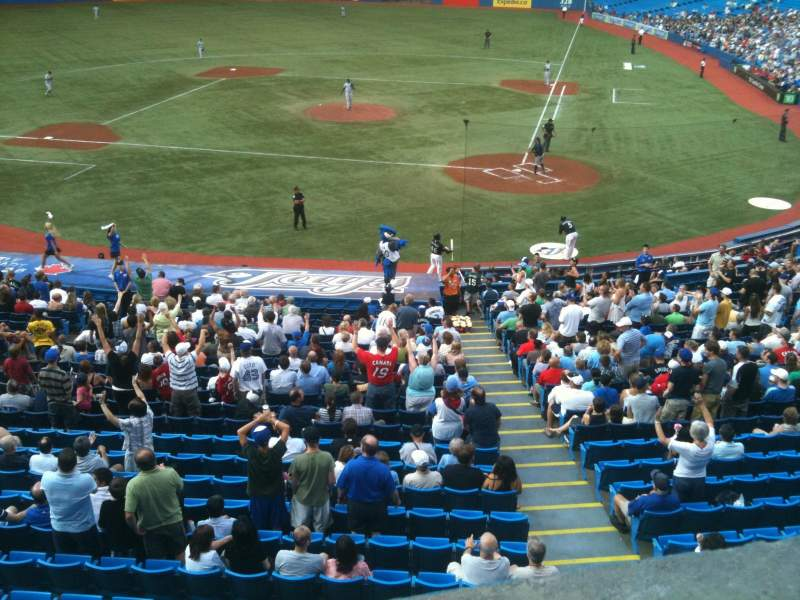 Seating view for Rogers Centre Section 226 Row 1 Seat 5