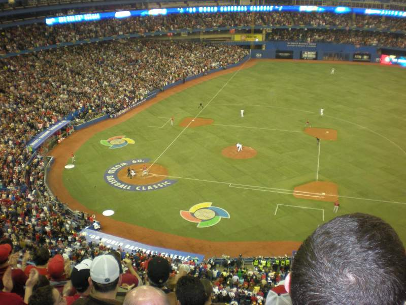 Seating view for Rogers Centre Section 517R Row 8 Seat 9