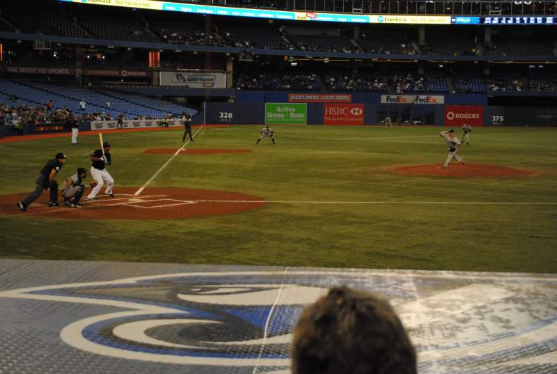 Seating view for Rogers Centre Section 119R Row 11 Seat 2