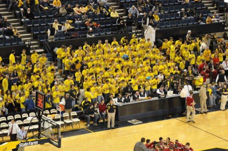 Seating view for Crisler Center Section 211