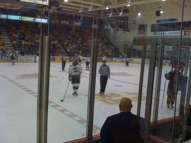 Seating view for Yardmen Arena Section 6 Row 3 Seat 4