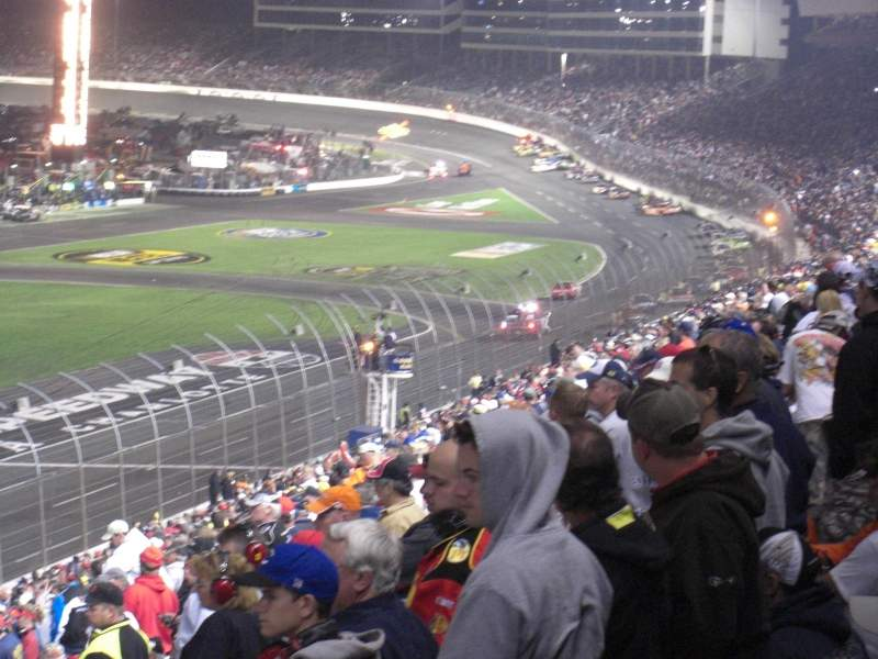 Charlotte motor speedway section chrysler a row 20 seat 5 Charlotte motor speedway hotels nearby