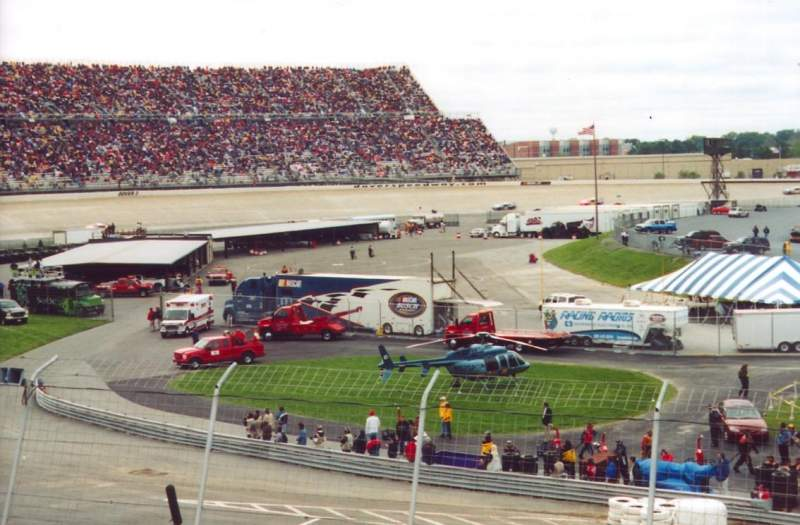Seating view for Dover International Speedway Section 115 Row 12 Seat 7