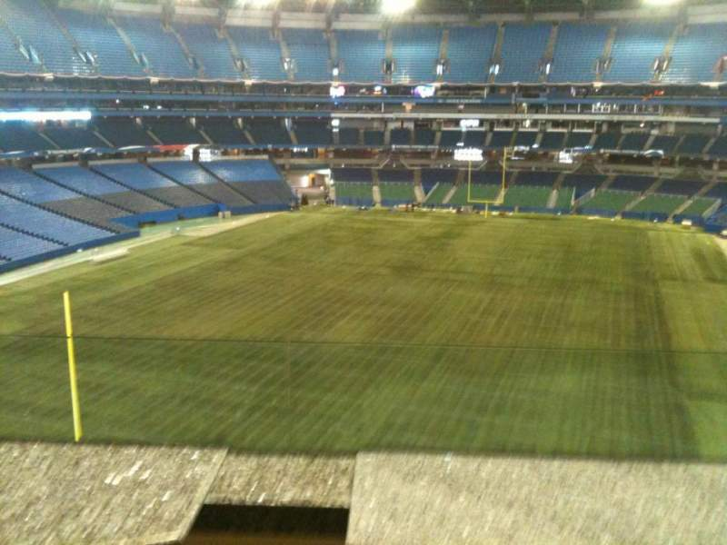 Seating view for Rogers Centre Section Sightlines Restaurant Row 1