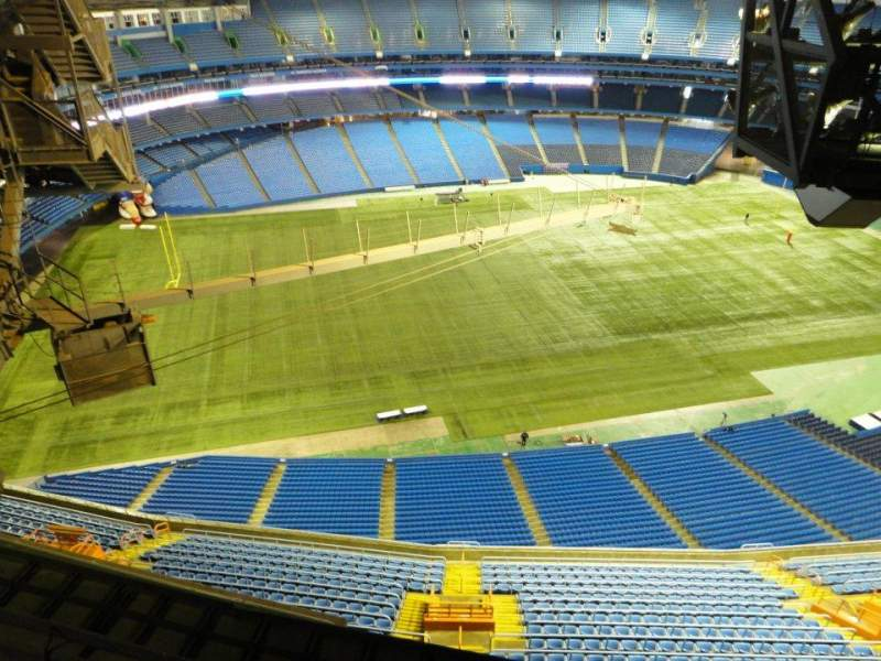 Seating view for Rogers Centre Section 700 Level