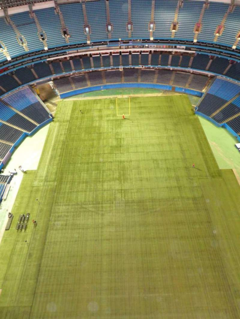 Seating view for Rogers Centre Section Roof Catwalk