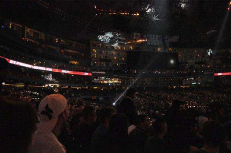 Seating view for Rogers Centre Section 127R Row 12 Seat 8