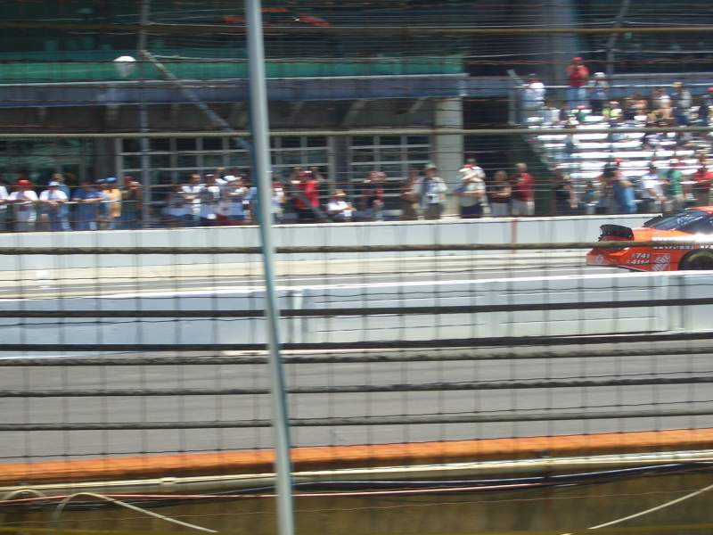 Seating view for Indianapolis Motor Speedway Section Padlock Box 19 Row B Seat 4