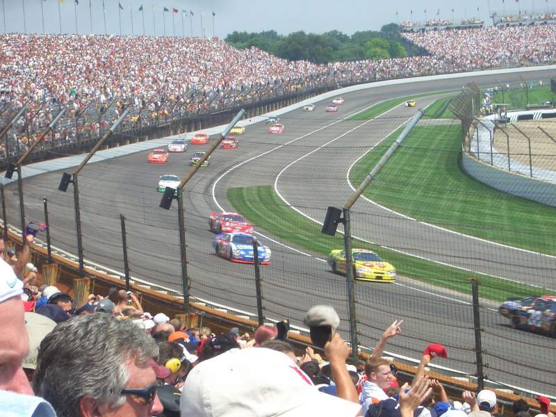 Seating view for Indianapolis Motor Speedway Section Northwest Vista 6 Row L Seat 5