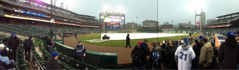 Seating view for Comerica Park Section 125 Row 5 Seat 5