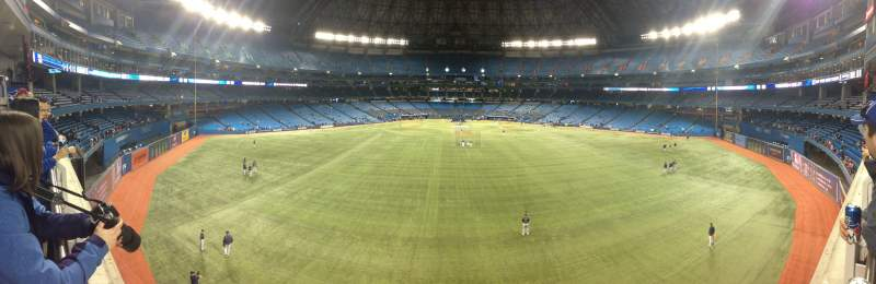 Seating view for Rogers Centre Section 200 Level Porch