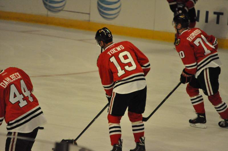 Seating view for United Center Section 122 Row 9 Seat 7