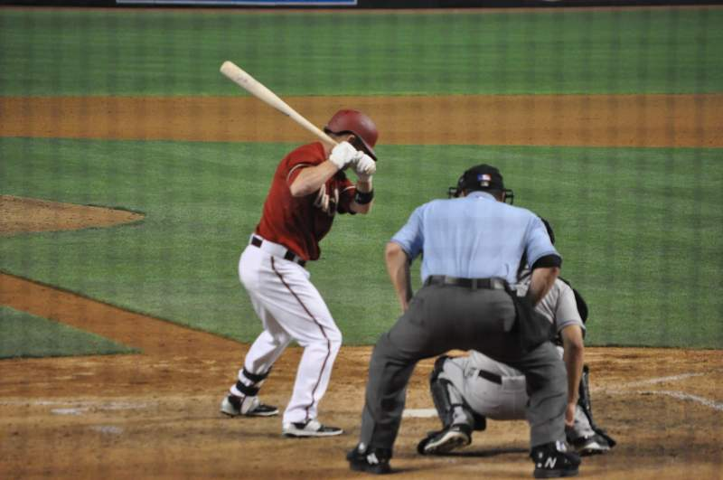 Seating view for Chase Field Section K Row G Seat 7