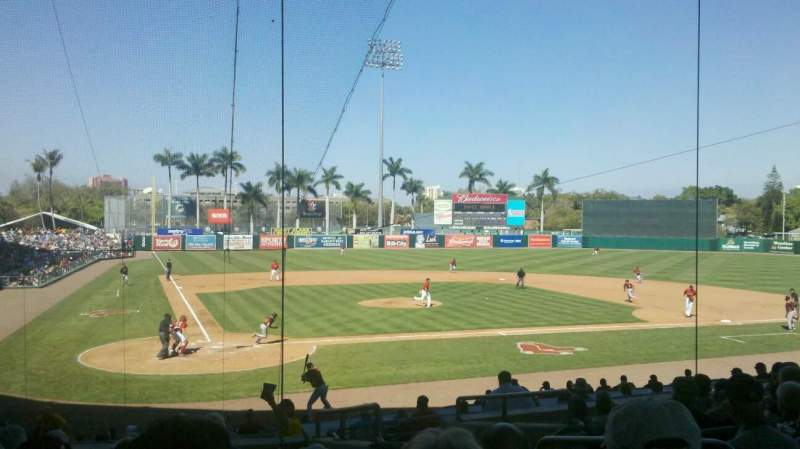 Seating view for City Of Palms Park Section R206 Row 09 Seat 4