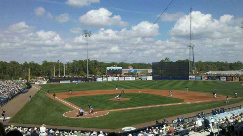 Seating view for Charlotte Sports Park Section 206 Row 16 Seat 23