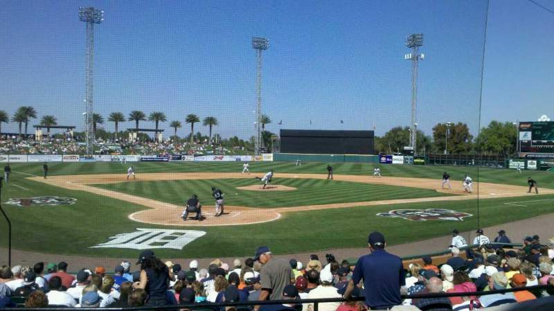 Seating view for Joker Marchant Stadium Section 206 Row B Seat 1
