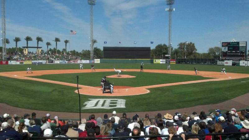 Seating view for Joker Marchant Stadium Section 206 Row D Seat 13