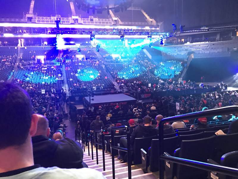 Seating view for Barclays Center Section 9 Row 15 Seat 1