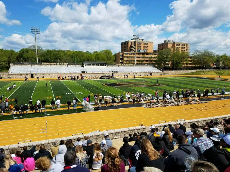 Seating view for Welch Stadium Section L Row 20 Seat 20