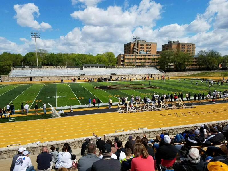 Seating view for Welch Stadium Section L Row 20 Seat 7