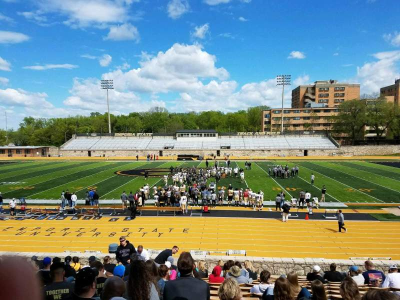Seating view for Welch Stadium Section O Row 21 Seat 1