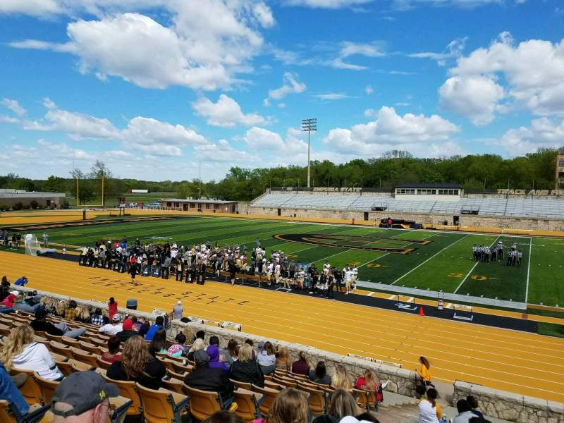 Seating view for Welch Stadium Section P Row 20 Seat 20