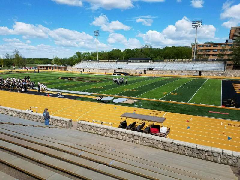 Seating view for Welch Stadium Section R Row 16 Seat 2