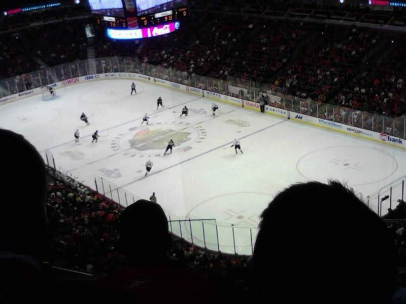 Seating view for United Center Section 329 Row 12