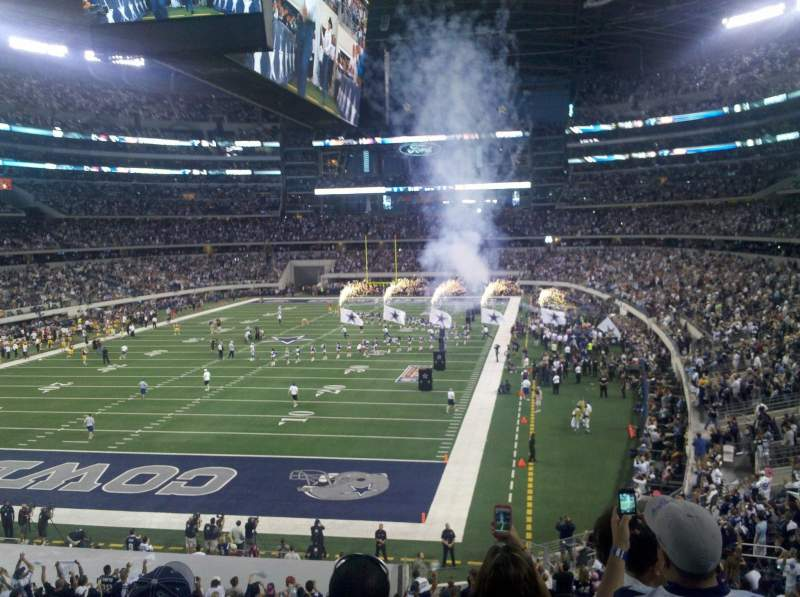 Seating view for AT&T Stadium Section 219 Row 5 Seat 25