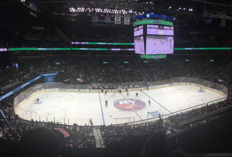 Seating view for Barclays Center Section Suite B28 Row 2