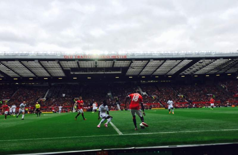 Seating view for Old Trafford Section N1407 Row BB Seat 55