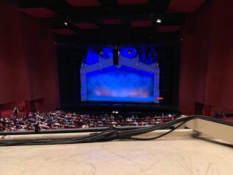 Seating view for San Diego Civic Theatre Section MEZZR1 Row O Seat 14