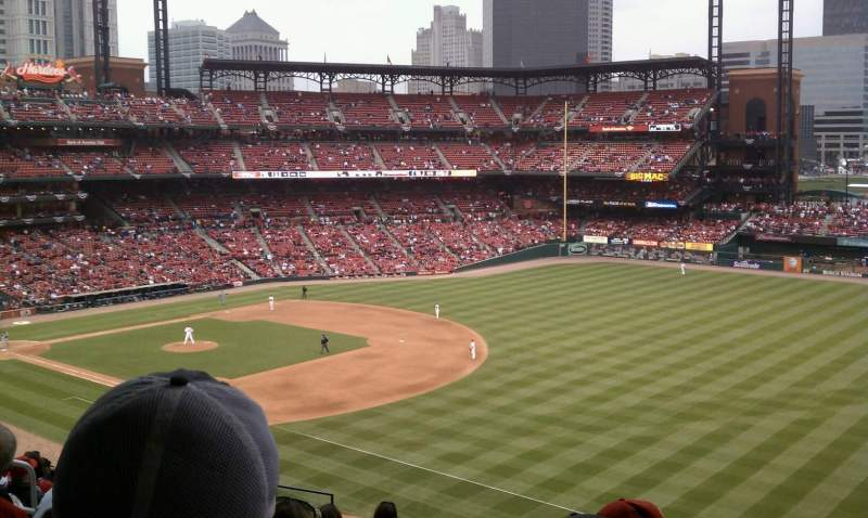 Seating view for Busch Stadium Section 235 Row 10 Seat 10