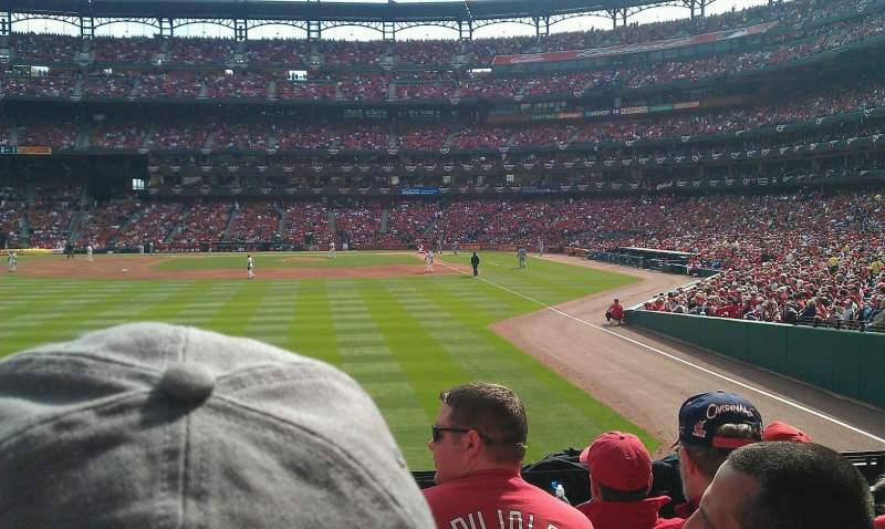 Seating view for Busch Stadium Section 171 Row 5 Seat 4