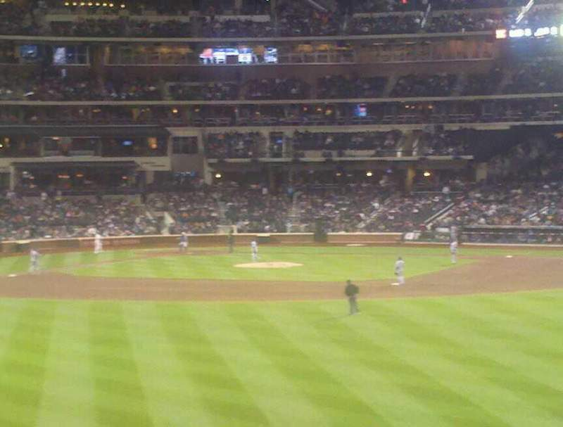 Seating view for Citi Field Section 137 Row 1 Seat 25