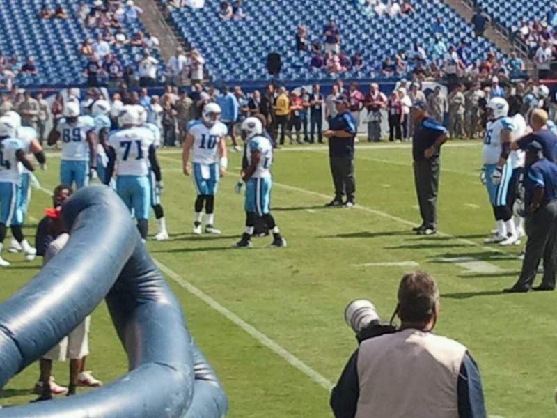 Seating view for Nissan Stadium Section 139 Row A Seat 1