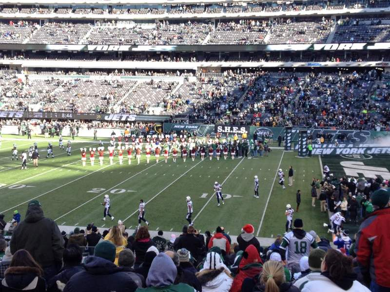 Seating view for MetLife Stadium Section 134 Row 30 Seat 26
