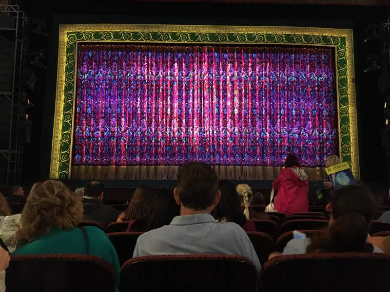 Seating view for Citizens Bank Opera House Section Orchestra C Row F Seat 108