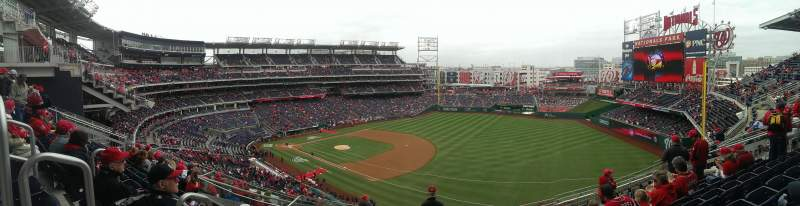 Seating view for Nationals Park Section 224 Row L Seat 15