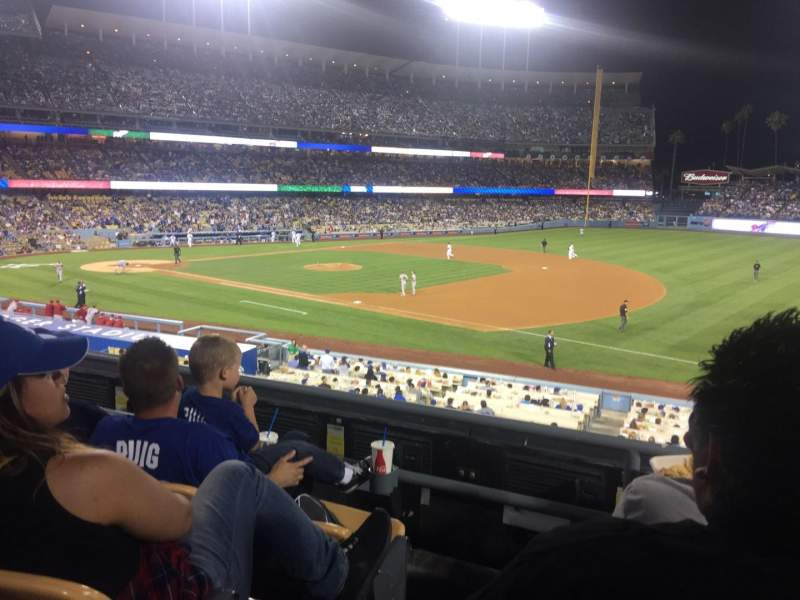 Seating view for Dodger Stadium Section 146lg Row C Seat 1