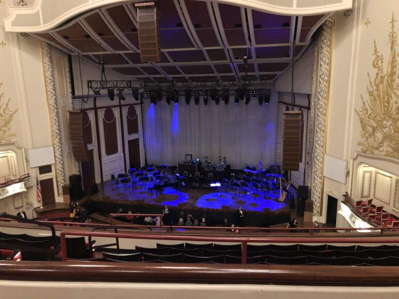 Seating view for Heinz Hall Section Family Circle RC Row B Seat 110