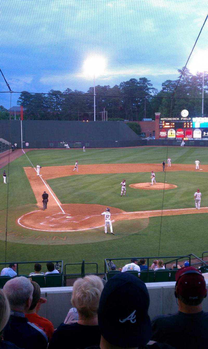 Seating view for Plainsman Park Section 104 Row P Seat 17