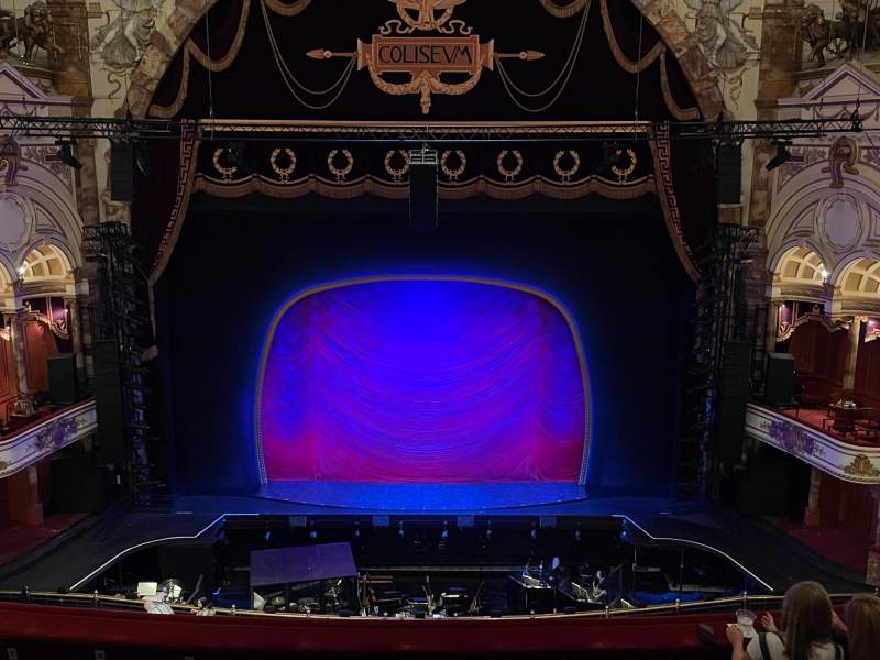 Seating view for London Coliseum Section Upper Circle Row F Seat 29