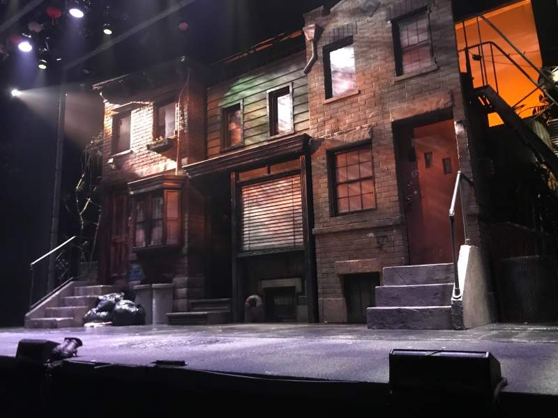 Seating view for New World Stages - Stage 3 Section Orchestra Row B Seat 121