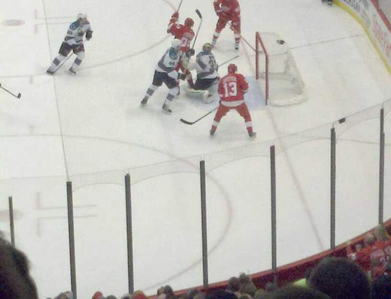 Seating view for Joe Louis Arena Section 119 Row 12 Seat 7